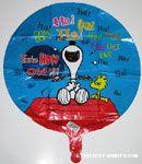 Peanuts Balloons