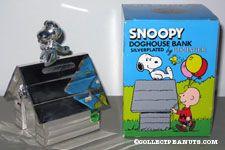 Peanuts & Snoopy Godinger Banks