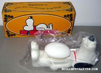 Snoopy lying on his back Soap Dish & Soap Bar