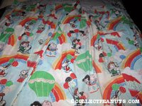 Peanuts Gang with Rainbows & Balloons Curtains
