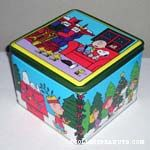 Peanuts Winter Scenes Tin Canister