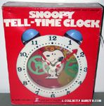 Snoopy Tell-Time Clock