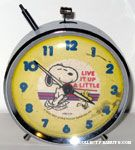 Snoopy & Woodstock dancing 'Live it up a little' Alarm Clock