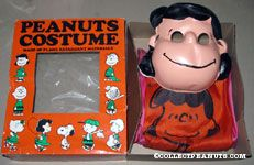 Peanuts Costume with Mask Lucy
