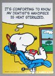 Peanuts & Snoopy Dental Appointment Cards
