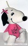 Belle 'I Love You.' Bean Bag Doll