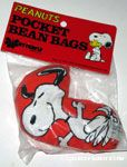 Snoopy dancing Pocket Bean Bag
