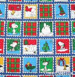 Snoopy and Woodstock Winter Scenes