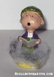 'Pigpen singing Carols' Figurine