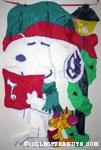 Snoopy & Woodstock caroling Flag