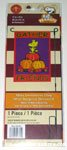 Woodstock on fall pumpkins 'Gather Friends' Mini Flag