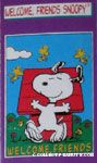 Welcome Friends Snoopy