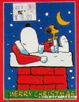 Snoopy on Chimney