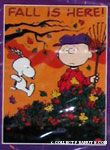 Fall Leaf Fun Snoopy
