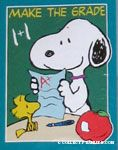 Make the Grade Snoopy