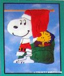 Peanuts & Snoopy Christmas & Winter Flags