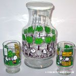 Peanuts & Snoopy Juice Glasses & Pitchers