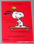 Snoopy and Woodstock Valentine Card