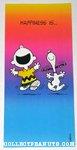 Charlie Brown & Snoopy dancing Greeting Card