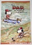 Snoopy & Woodstock camping Father's Day Greeting Card