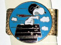Flying Ace on Doghouse Money Clip