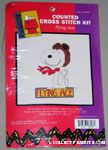 Snoopy as Flying Ace Cross-stitch Kit