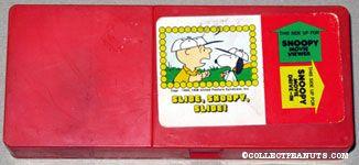 Slide, Snoopy, Slide Movie Viewer Cartridge
