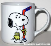 Peanuts & Snoopy Senior World Hockey Tournament Mugs