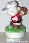 Charlie Brown pitching baseball Musical