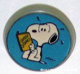Snoopy Reading Ghost Stories Book