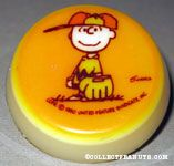 Charlie Brown in Baseball gear Nightlight
