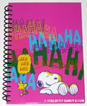Snoopy & Woodstock laughing spiral Journal