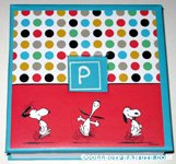 Snoopy dancing Notepad Tablet
