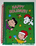 Peanuts Gang 'Happy Holidays' Spiral-Bound Journal