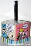 Peanuts Gang Memo Cube with pen