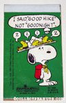 Snoopy and the sleeping beaglescouts Notepad