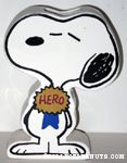 Snoopy hero ribbon Vase