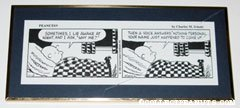 Charlie Brown in bed Comic Strip Desk Art