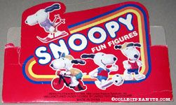 Snoopy Fun Figures Determined Productions Display piece
