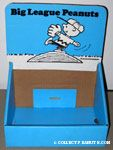 Big League Peanuts Book Display Box