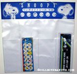 Snoopy portraits Hallmark Katsuwa Sticker Display piece