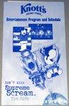 Knott's Berry Farm Entertainment Program & Schedule
