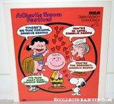 'A Charlie Brown Festival RCA Selectavision VideoDisc Display