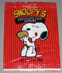 Snoopy's Chocolate Chip Cookies Bag