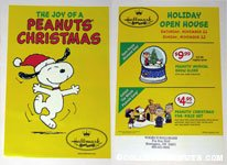 Snoopy Dancing 'Joy' Hallmark Brochure