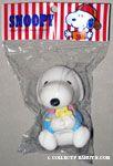Baby Snoopy hugging Woodstock Squeaky Toy