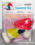 Snoopy Fireman Squeaky Toy