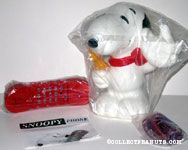 Snoopy Stands holding Receiver