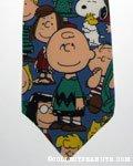 Peanuts Gang Necktie