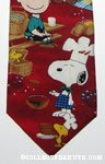 Peanuts gang Fourth of July cookout and fireworks Necktie